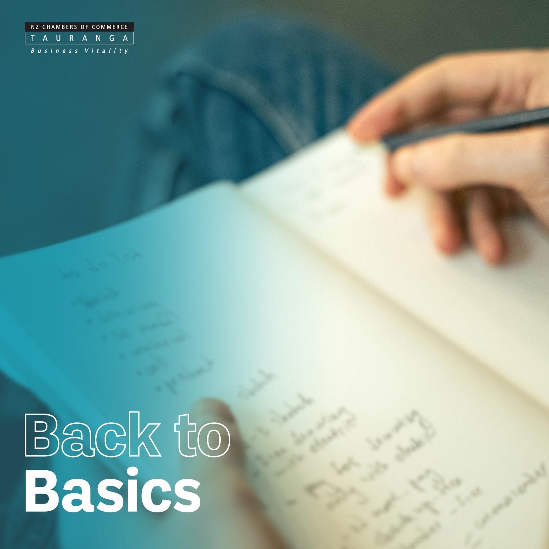 Back to basics fundamentals series