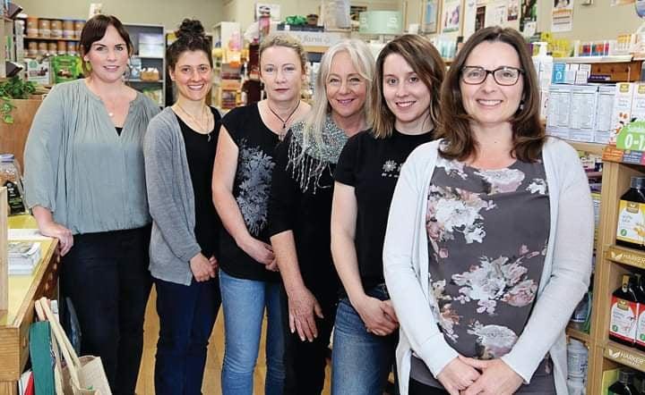 Team photo of the Bethlehem Health Shop staff