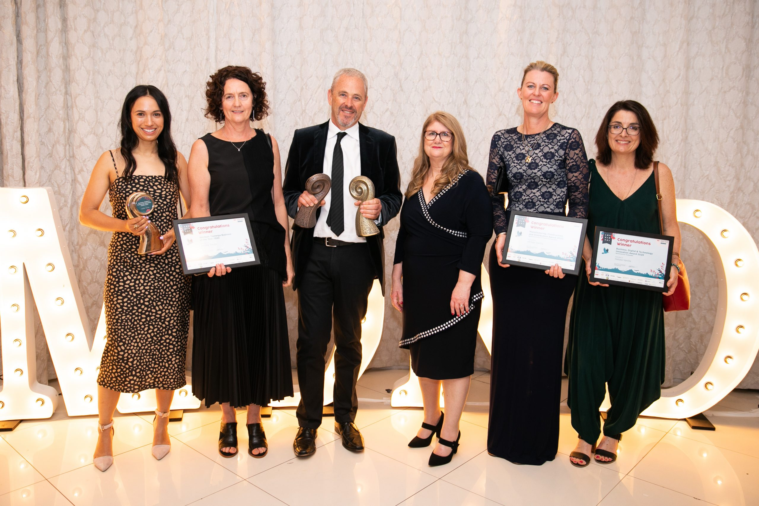 Heilala Vanilla Business Awards 2020 Winners